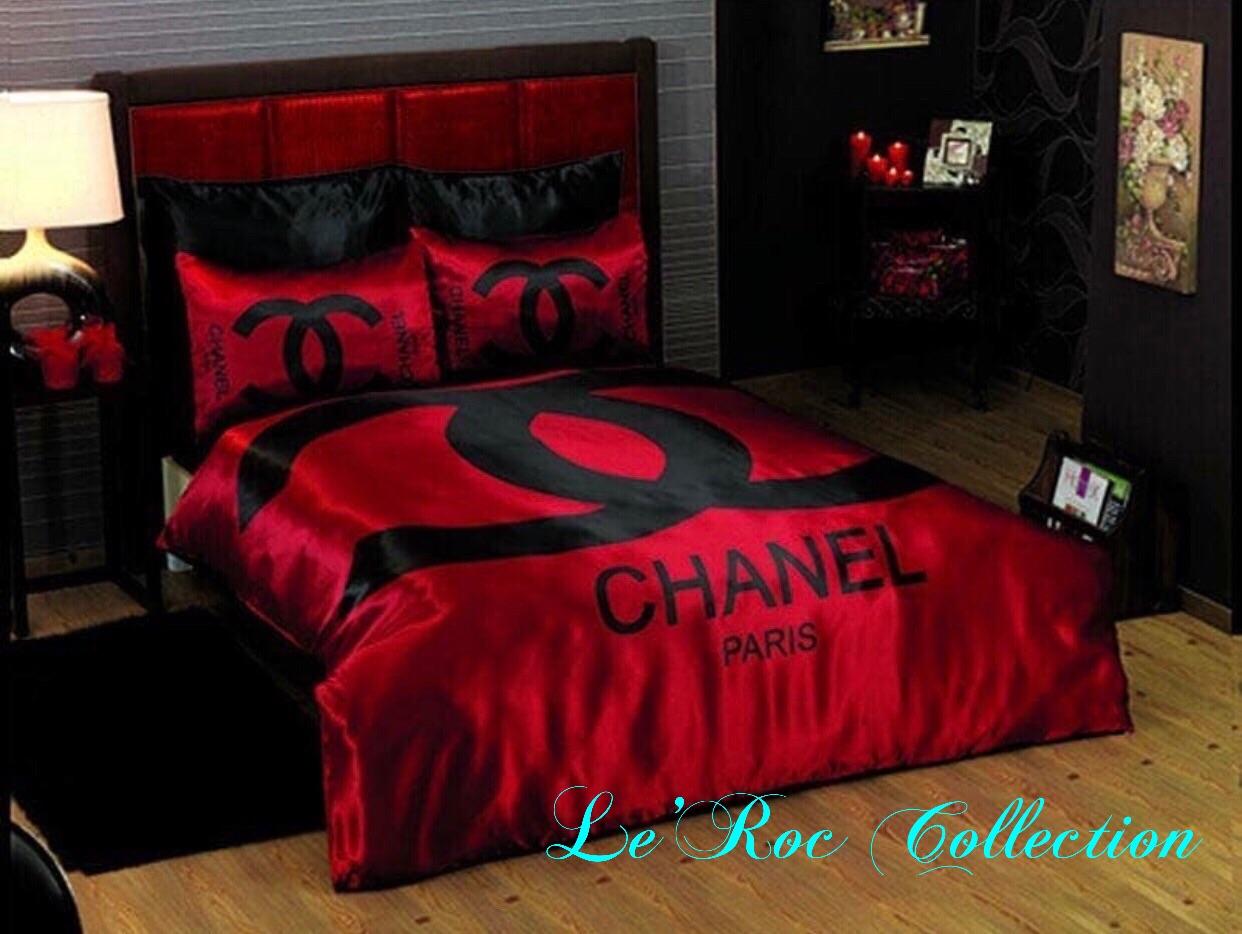 50 Blue Ribbon Chanel Comforter Queen Ideas Oneshellsquare